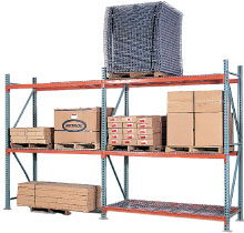 Pallet Rack Storage in a Warehouse