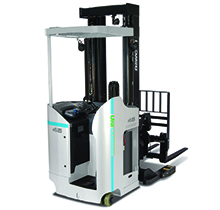 UniCarriers Electric Stand Up SRX Reach Truck