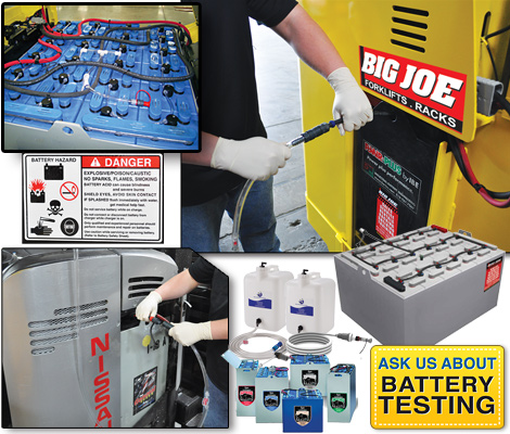 Battery And Chargers Service Parts Big Joe Lift