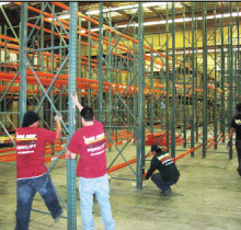 Warehouse Installation and Cleaning