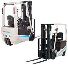 Sit Down Electric Forklift Rental