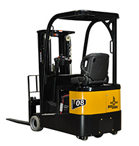 V08 3 Wheel Electric Rider Forklift