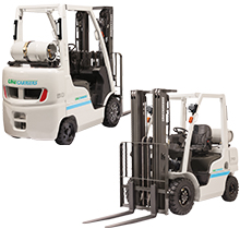 Sit Down Propane Forklift Rental