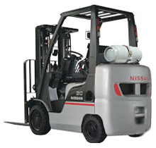Nissan Platinum II Series Cushion Forklift