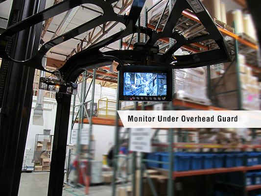 Drexel With Monitor Under Overhead Guard